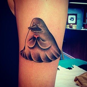 Incredible Tattoos Inspired By Books From Childhood