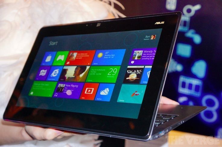 Asus Taichi: a dual-display Windows 8 laptop / tablet hybrid (Should we call this... Taptop?)