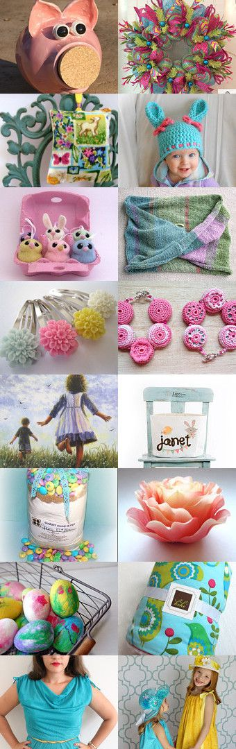 Easter Memories by Cassie on Etsy--Pinned with TreasuryPin.com