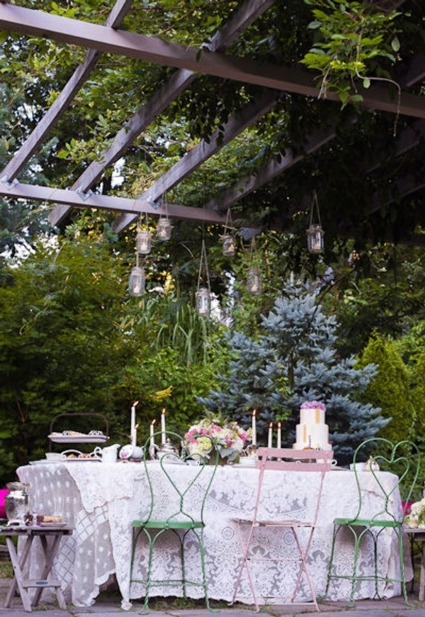 al fresco: Table Settings, Table Decoration, Shabby Chic, Chic Outdoor, Garden Parties, Outdoor Spaces, Easy Tablescapes
