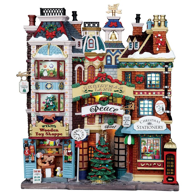 180 best lemax to buy images on Pinterest | Christmas villages ...
