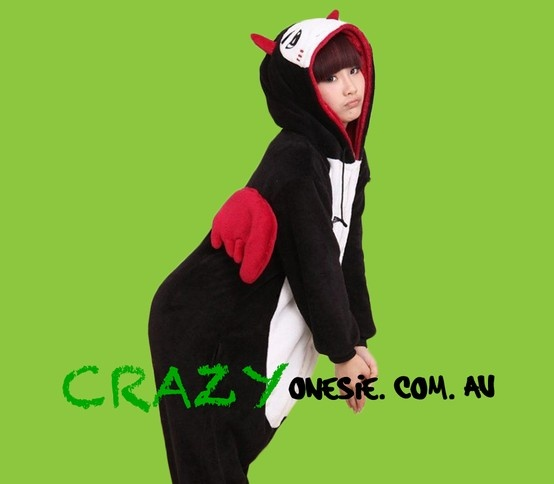 Demon Onesie. 25% off EVERYTHING in store. Free Express Delivery Australia-wide. Visit www.crazyonesie.com.au for more details. Visit our Facebook page https://www.facebook.com/crazyonesie for exclusive competitions and discounts