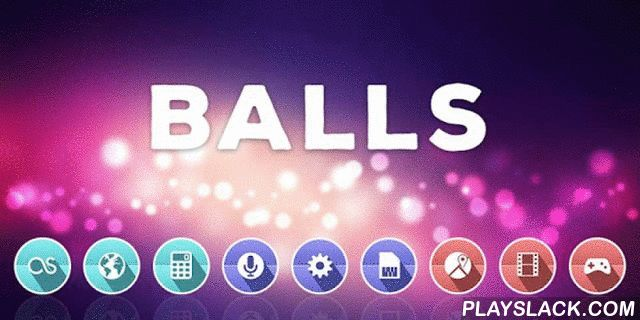 Balls - Solo Theme  Android App - playslack.com ,  Hi all, I want to introduce you to an amazing way possible simple and boring phone interface to transform into a colorful and unusual. This amazing Theme to replace your standard Icons on the more interesting, as well as a beautiful Wallpaper that combine harmoniously with it. If you like the app do not forget to leave your assessment, as well as join our official communities to follow all the news, as well as the first to receive new…
