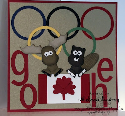 Go Eh! Punch art beaver and moose
