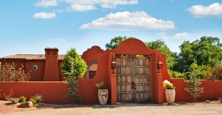 41 best dream homes southwest style images on pinterest for Adobe home builders texas