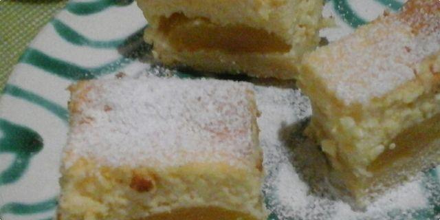 Baden kocke (kolač sa prefinom pečenom kremom od sira i marelicama iz kompota)