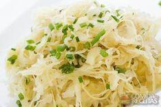 Receita de Repolho refogado em receitas de legumes e verduras, veja essa e outras receitas aqui!