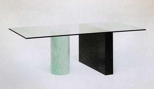 Lella and Massimo Vignelli, Kolanna Table, for Casigliani
