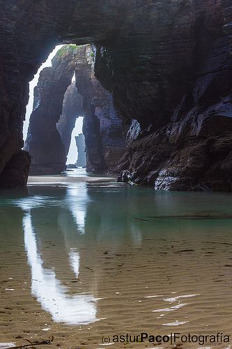 Playa de Las Catedrales / As Catedrais