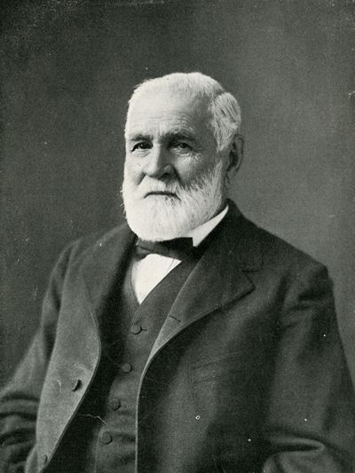 Joseph LaBarge (1815 - 1899)  was a famous steamboat captain on the Missouri River. During his fifty-year career, he never lost a boat. LaBarge's career on the river mirrored the rise and decline of the steamboat industry as interstate river commerce grew until it was eclipsed by the emerging railroad industry.
