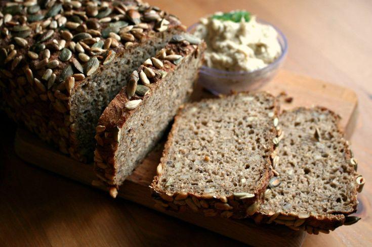 Jednoduchý kváskový žitný chléb