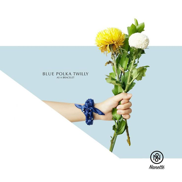 #twilly #scarf #wristband #blue #polkadot