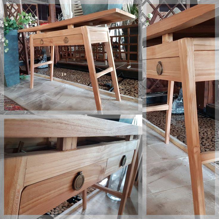 Cuando veas esta mesa auxiliar la única duda que tendrás es en que espacio de tu casa la ubicas... ¡Quedaría perfecta en cualquier sitio!