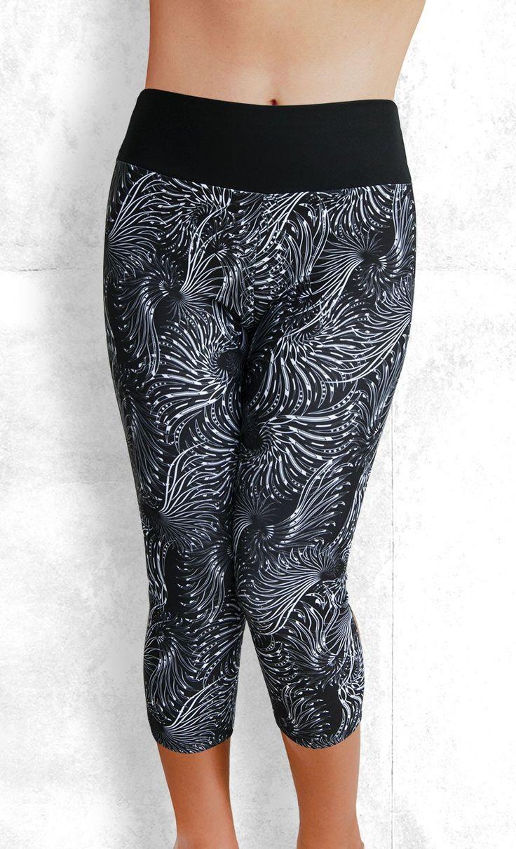 Capri Leggings - Wings - Funtastic Activewear