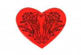 Native Filigree Heart