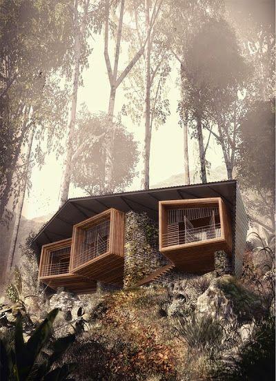 Casas de montaña