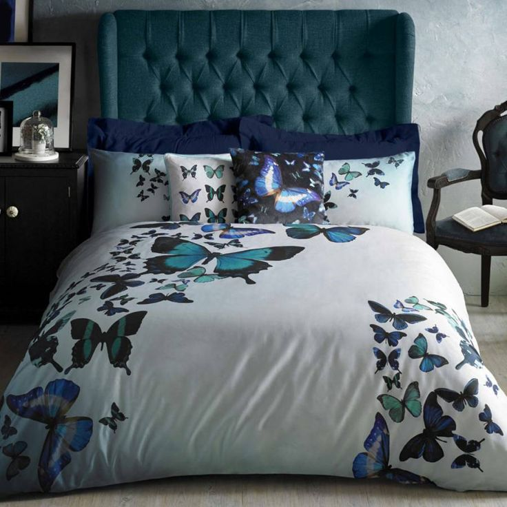 Butterfly Collective Super King Duvet Cover - Ted Baker Home & Gifts