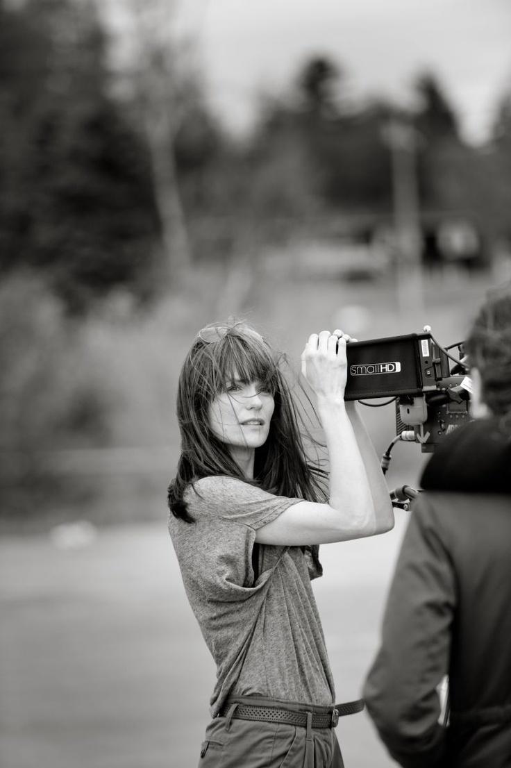 Katie Aselton bangs