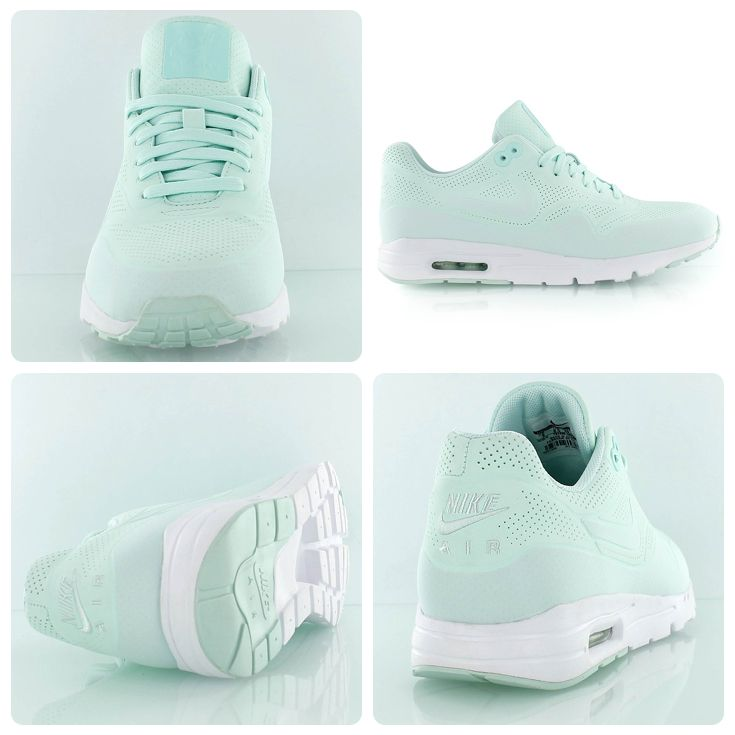 detailed look 0f2e2 212b5 Nike Wmns Air Max 1 Ultra Moire mint white   Shoes   Nike air max, Adidas  sneakers, Nike shoes