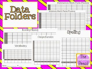 Student Data Folders FREEBIE!