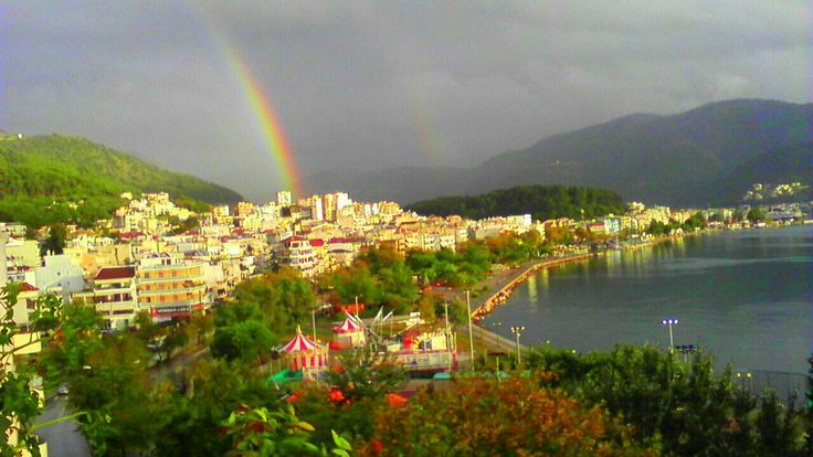 After the rain.Igoumenitsa Greece..