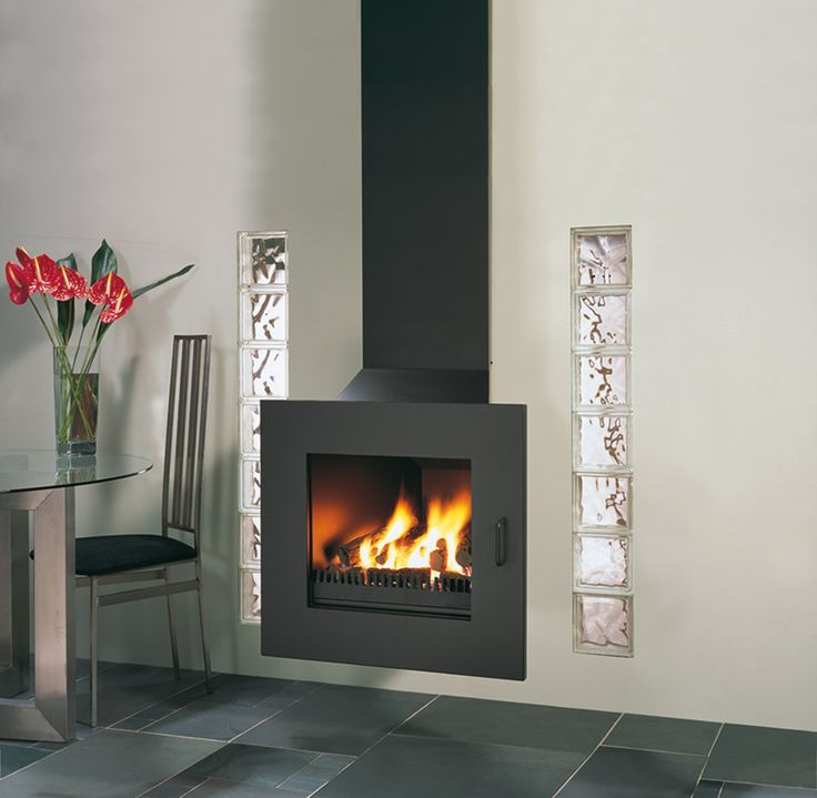 Rocal D-4 Wood Burning, Multi-fuel & Gas Fireplaces