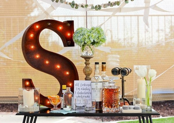whiskey party inspiration by a fabulous fete