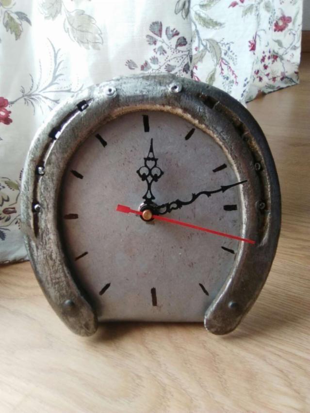 Reloj Herradura Gris