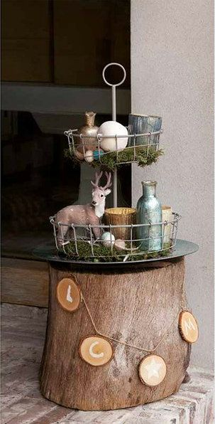 life garden christmas trends 2014 winter hideaway natural materials and frosted