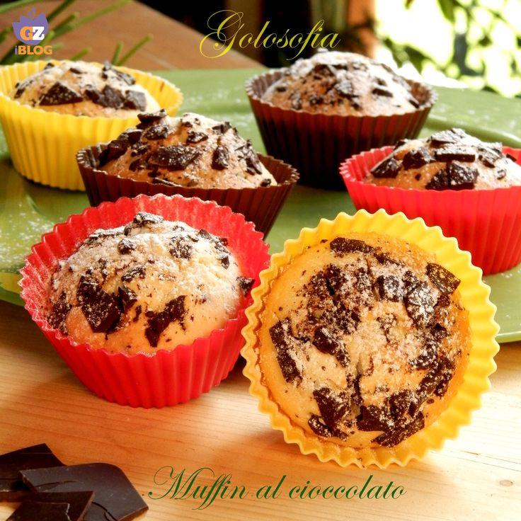 Muffin al cioccolato, soffici golosi dolcetti perfetti da gustare a colazione o come pausa dolcissima!