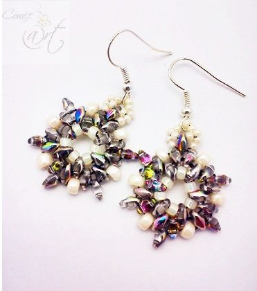 Corale-@rt, beading, Super Duo, Stars
