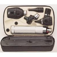 Welch Allyn Otoscope / Ophthalmocope Comp Set by Welch Allyn. $582.76. The Welch Allyn 3.5V halogen instruments are the finest for your needs.. Includes: • Ophthalmoscope (#11710). • Otoscope throat illuminator (#2000 ). • Rechargeable handle (#7100). • Set of reusable specula (#05250). All in one convenient case! The 3.5V halogen provides over three times the light intensity of incandescent lamps, 100% greater usable lamp life than incandescents and consis...