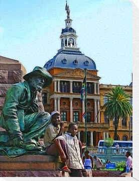 When you volunteer with Via Volunteers, you will have the chance to see how beautiful South Africa is! Church Square, Pretoria