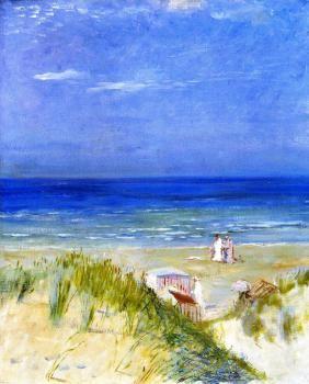 Sand Dunes, Ambleteuse - Charles Conder