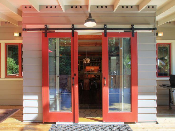 19 best sliding barn doors images on pinterest sliding for Sliding barn doors for patio