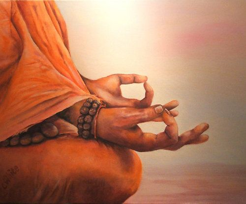 jnana mudra:  wisdom mudra:)  Like taking your body and plugging it back in to it's own infinite power charger and natural reservoirs of energy.