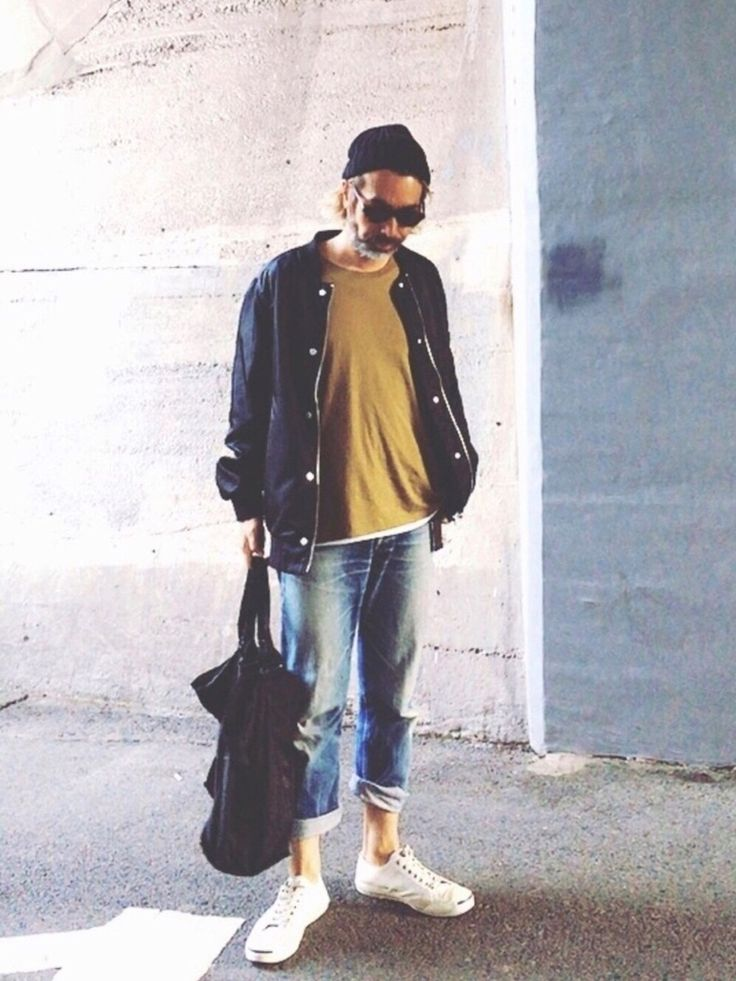 YosaKuginoさんの「メンズ コンバース ジャックパーセル エンボススネーク レザー CONVERSE JACK PURCELL EMBOSSNAKE M LEATHER 32242980/32242981(CONVERSE)」を使ったコーディネート