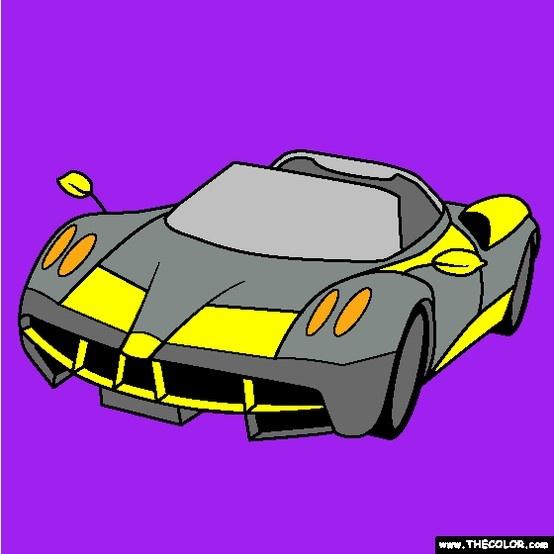 new pagani huayra coloring page pronounced wai rah this car follows up