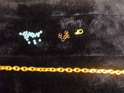 DIY Ankle Bracelet