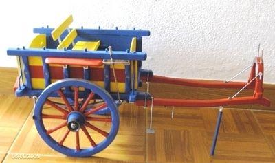 Miniaturas em Madeira