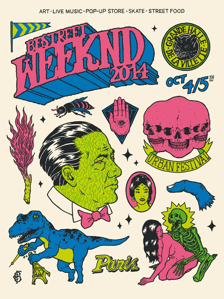 Be Street Weeknd 2014, (Visuel : Broken Fingaz)