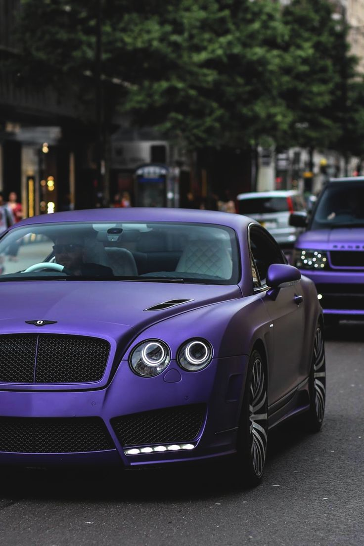 matte purple bentley continental range rover cars bentley pinterest like quotes a. Black Bedroom Furniture Sets. Home Design Ideas