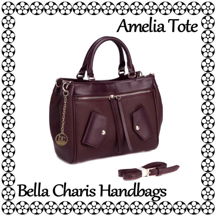 Bella Charis Amelia Leather Tote [4 colours]