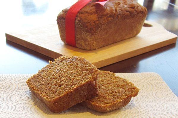 Perfektní dýně chléb: Vegan, Mlékárna-Free, Soy zdarma, bezlepková