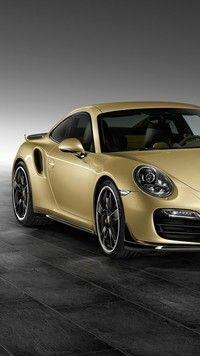 Porsche 911 Turbo Lime Gold