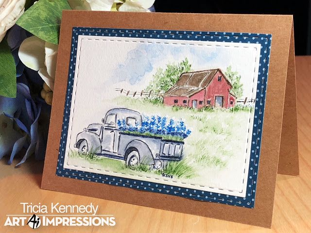 Art Impressions Blog: NEW 2018 Watercolor Sets NOW Available! PLUS, Challenge 227 Watercolor Wonders!