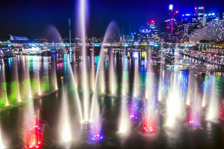 Vivid in Darling Harbour - Running annually over 18 days throughout May to June