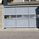 Πόρτα σιδήρου-γκαραζόπορτα