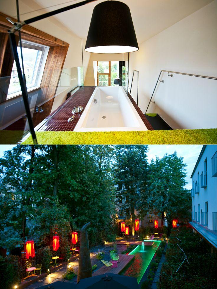 NALA Indivduellhotel | Designhotel | Innsbruck | Austria | http://lifestylehotels.net/en/nala | Little Paradise in the City