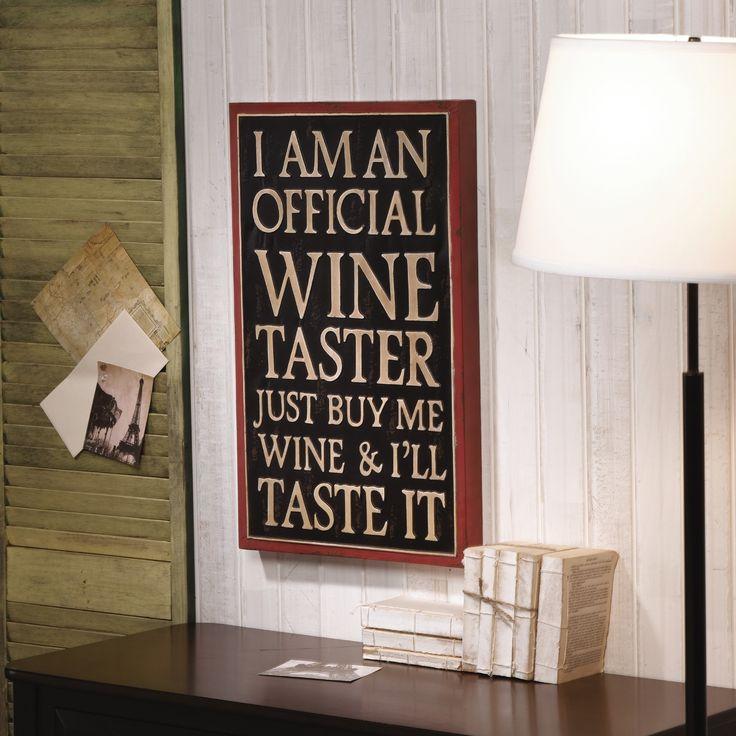 Wine Taster Graphic Art in Black